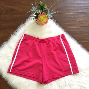 Nike Athletic Shorts Hot Pink Size L